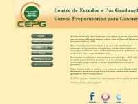 cepg.com.br pós-graduação, cepg, centro de estudos