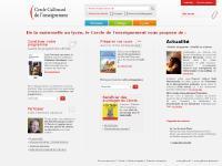 cercle-enseignement.com S'identifier, Devenir membre, Primaire