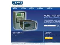 ceweinstrument.se analog panel instruments, digital panel instruments, panel meters manufacturer