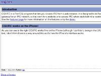 cgiirc.org web based irc, CGI:IRC, cgi-irc
