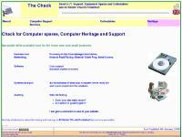 Heritage, MenuA110, Components, Hardware