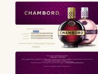 Chambord Online | Age