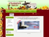 ChampionJuicer.com | - Champion Juicer | Plastaket Mfg.