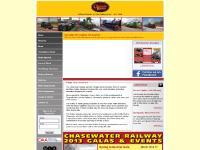 chasewaterrailway.co.uk heritage trains, steam, diesel