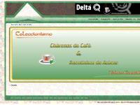 Colecção de Chávenas e Pacotes de Açúcar Delta