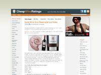 Cheap Wine Ratings - Good Value Makes Wine Taste Better