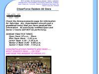 CheerForce Raiders All Stars