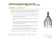 Chimney Bird Guards