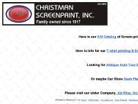 Welcome to Christman Screenprint
