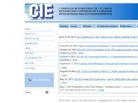 CIE - INTERNATIONAL COMMISSION ON ILLUMINATION