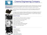 Cinema Engineering Company Home Page