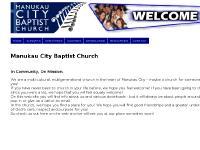 Manukau City Baptist Church