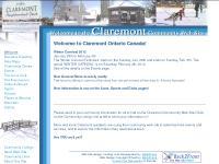 Claremont Community Web Site, Claremont, Ontario, Canada.