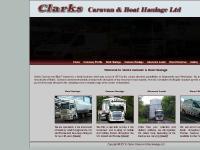 Clarks Caravan & Boat Haulage - UK/European Wide Load Specialists