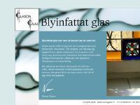blyinfattat, blyglas, konstglas, glaskonst