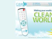 CLEAN REMOTE Asepsis TV Remote Control Hospital Healthcare Nosocomial