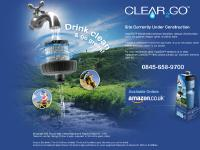 "Clear2Goâ""¢ - Filtered water through a bottle"