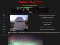 Clear Skys Inc. - Observatories, Telescope Piers, Custom Bags and Shrouds, Fine Focus Adaptors