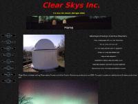 Clear Skys Inc. - Observatories, Telescope Piers, Custom Bags and Shrouds, Fine Focus Adaptors