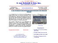 clenschmidtson.com Plumbing, Heating, Air Conditioning