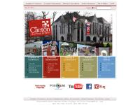 Historic Downtown, City of Clinton, Chamber of Commerce, Economic Development