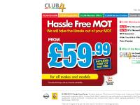 Club4 - great offers on car servicing, MOT, Exhausts and Tyres for Renault & Nissan cars in Northern Ireland