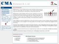 CMA Research - Blue chip, corporate and senior executive recruitment specialists