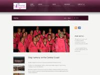 Womens acappella harmony group on the Central Coast