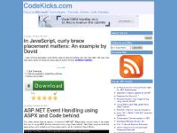 CodeKicks.com - Focus on Microsoft Technologies