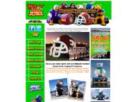 Inflatable Football Tunnels | Sport Tunnel Mascots | Cogswell Creations Sports Inflatables