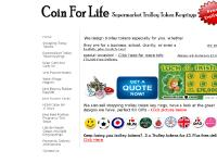 Coin For Life - Supermarket Shopping Trolley Token Pound Euro Coin Personalised Keyrings,coinforlife Shopping Trolley Token Coins , Gifts, Collectables, Retail, Re-sellers, Fundraisers, Schools, Charities, Clubs, Gyms, Airports, Carboots, Partys, Wedding,