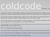 coldcode.co.uk videos, major devblog, devblog