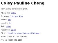 Coley Pauline Cheng