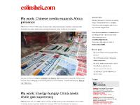 China Central Television, Xinhua, Read the rest of this entry », Colin