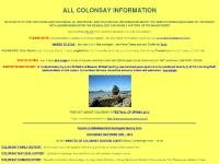 ALL COLONSAY INFORMATION