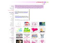 Girly Myspace Comments, Myspace Comment Codes, Free Myspace Comments, Myspace Graphics, Girly Myspace Comments, Funny Myspace Comments, Fashion Myspace Graphics