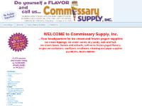 Commissary Supply is Your Headquarters for Ice Cream & Frozen Yogurt Supplies
