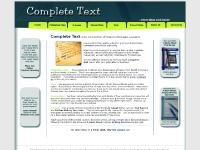 completetext.com Freelance, writer, freelance writer