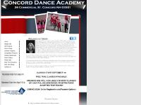 concorddanceacademy.com Recital Info, Fall Program, Dance Camp