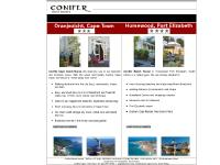 Accommodation Conifer Guest Houses | Bed and Breakfast Humewood Port Elizabeth | Guest House Oranjezicht Cape Town