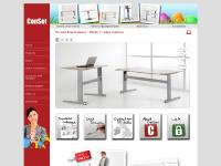 Height Adjustable Desk | ConSet UK