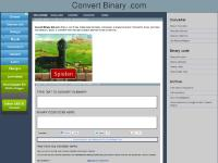 Binary Converter Live Text to to Binary Translator - ConvertBinary.com