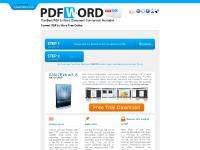 convertpdftoword - Convert PDF to Word Free Online