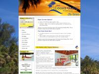 cookislandsoasis.com holiday villas, bungalows, cottages