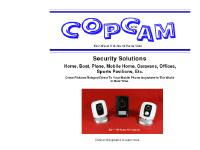 Copcam Home