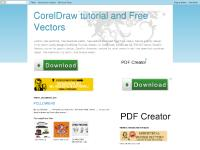 CorelDraw tutorial and Free Vectors