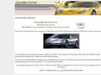corvettecorner.com corvette parts, corvette accessories, corvette performance