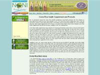 Costa Rica Health Supplements and Products