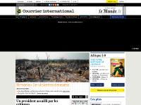 Le Monde diplomatique, La Vie, Retour à la page d'accueil, France