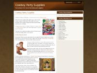 cowboypartysupplies - Account Suspended